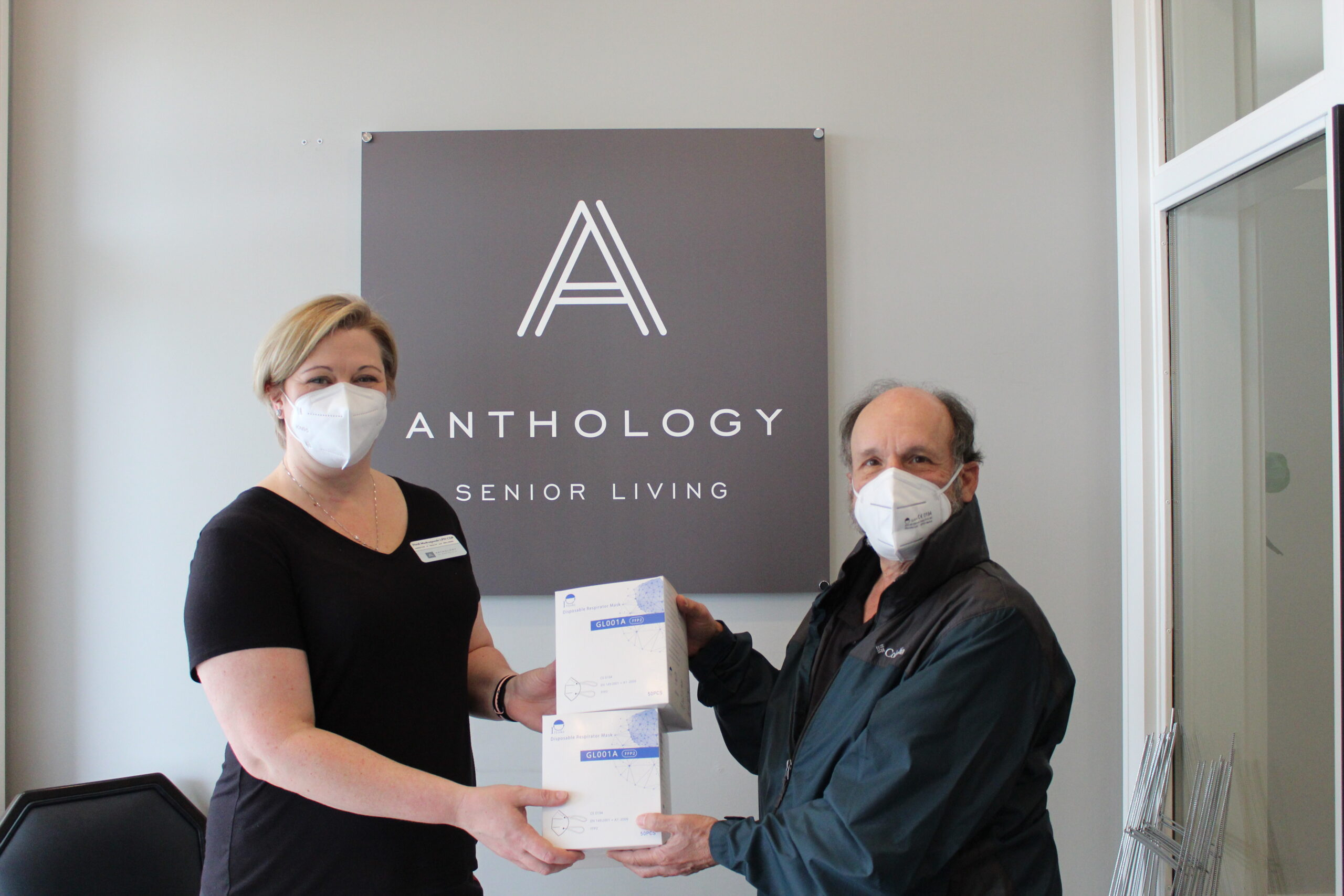<strong>Mark Abbo Leads Effort to Supply Masks to Seniors</strong>